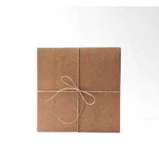 Card Base - Kraft - 5 pcs - 5,3x5,3""