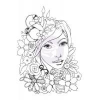 Prima - Bloom Collection Stamp - Karlie