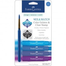 Faber-Castell - Mix & Match Gelatos - blue