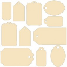 7 Dots Studio - Lost and Found - Chipboards
