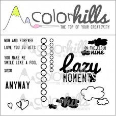 Colorhills - Lazy Moments - Stamp Set 1