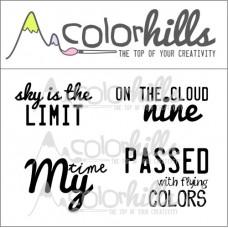 Colorhills - Lazy Moments - Stamp Set 2