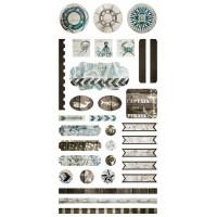 7 Dots Studio - Destination Unknown - Elements Stickers