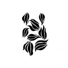 Dina Wakley - Stencil - Swirls