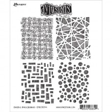 Ranger - Dylusions 7''x8,5'' Cling Stamps - Graphic Backgrounds