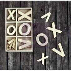 Prima - Sunrise Sunset - Wood Icons in a Box - xoxo