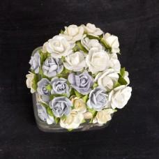 Prima - Paper Flowers - Frost Mini Sachet