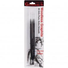 General Pencil - Woodless Graphite Pencils