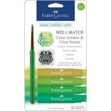 Faber-Castell - Mix & Match Gelatos - green