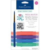 Faber-Castell - Mix & Match Gelatos - metallic