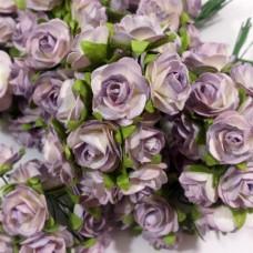 Prima - Paper Flowers - Light Purple Roses - 100 pcs