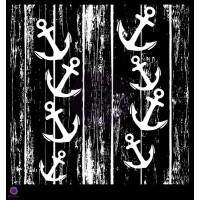 Prima - 12x12 Stencil - Anchors