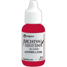 Archival Ink Reinker - Vermillion