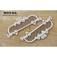 Scrapiniec - Royal - Small Decors - 2pcs