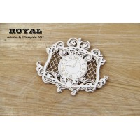 Scrapiniec - Royal - Clock Frame