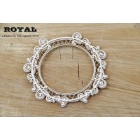 Scrapiniec - Royal - Round Frame