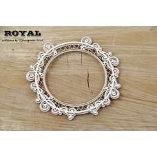 Scrapiniec - Royal - Round Frame