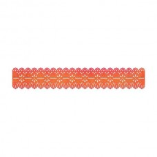 Sizzix - Sizzlits Decorative Strip - Scallop Eyelet Lace