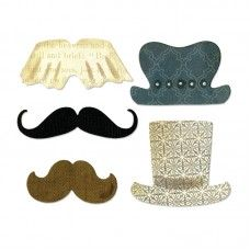Sizzix - Thinlits - Top Hats & Mustaches