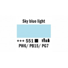 Amsterdam - Sky Blue Light 551