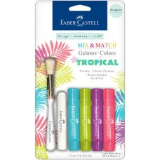 Faber-Castell - Mix & Match Gelatos - tropical