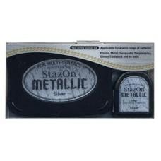 StazOn - Silver Metallic