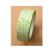 Washi Tape - Green Leaf