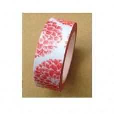 Washi Tape - Red Flower - 15mmx10m
