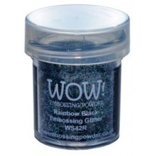 WOW - Embossing Glitter - Rainbow Black