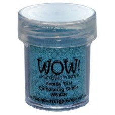 WOW - Embossing Glitter - Totally Teal