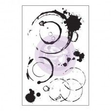 Prima - Cling Stamps - Coffee Stains