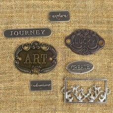 Prima - Mechanicals - Plated Labels
