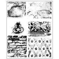 Prima - Cling Stamps - Dirty Walls