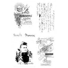 7 Dots Studio - Cold Country - Clear Stamps 4x6''