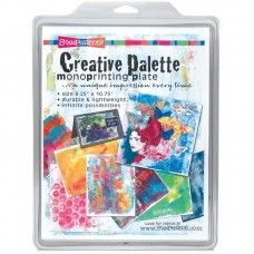 Stampendous - Creative Palette - Monoprinting Plate