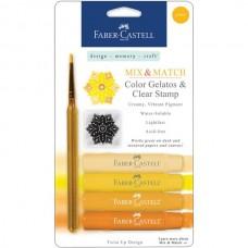 Faber-Castell - Mix & Match Gelatos - yellow